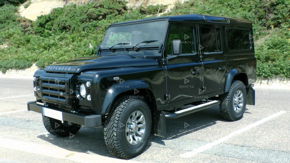 Диагностика ошибок сканером Land Rover Defender в Воронеже